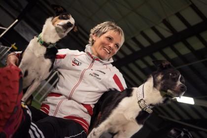 Michaela Brandstetter: Hunde- und Agilitytrainerin. Profilbild.
