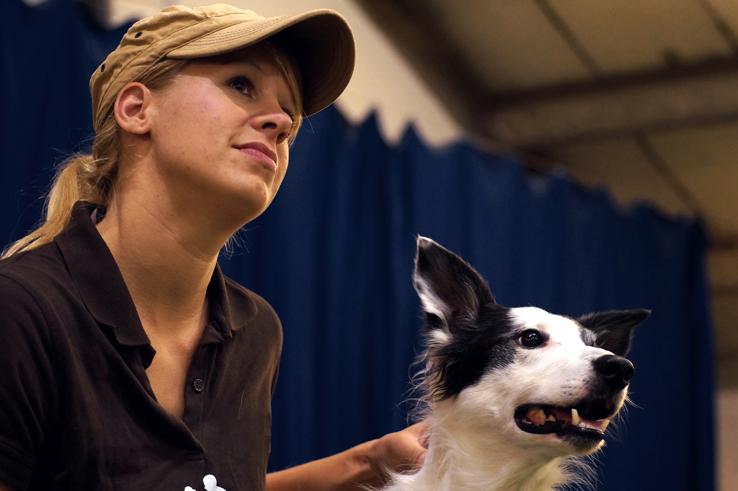 Nina Lohmeyer - Hundetrainerin aus Leidenschaft: Agility, Obedience, Dog-Frisbee und mehr.