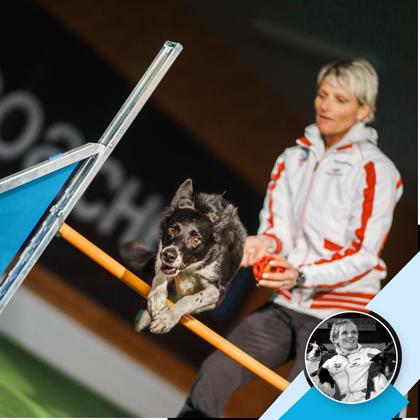 Michaela Brandstetter: Vorspringen Teil 1- ein DogCoaches Online-Kurs, Kursbild
