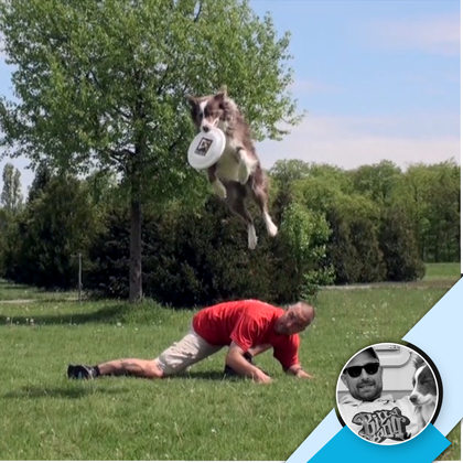 Discrockers Delight - ein DogCoaches Kurs für Fortgeschrittene. Hunde-Frisbee (Dog-Frisbee, Discdogging) mit Jochen Schleicher.