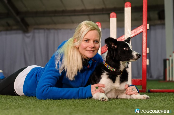 Agility-Weltmeisterin Jenny Damm